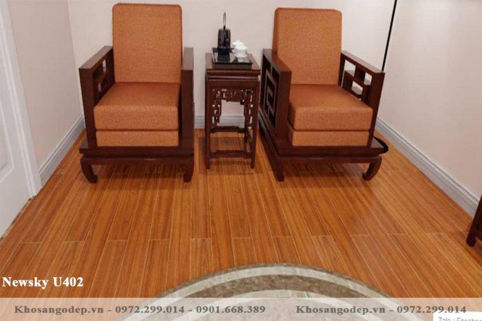 sàn gỗ Newsky cốt xanh U402