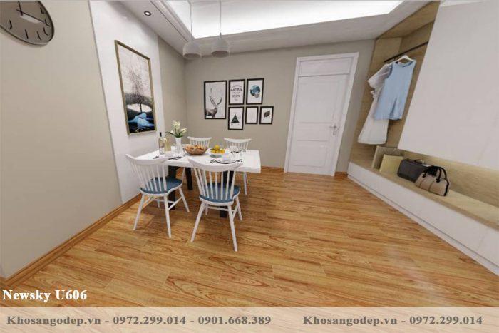 sàn gỗ Newsky cốt xanh U606