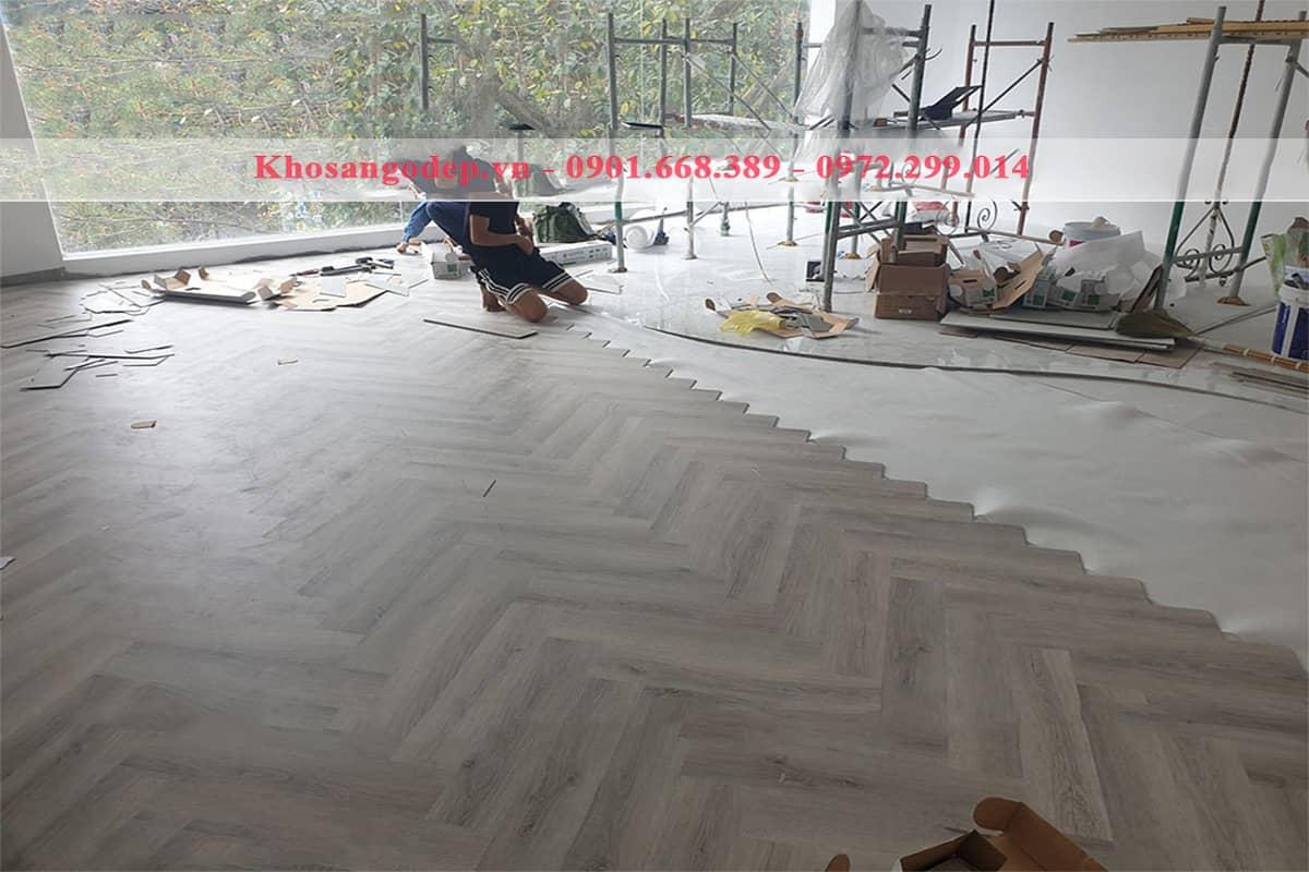 Sàn gỗ xương cá Newsky XC1173