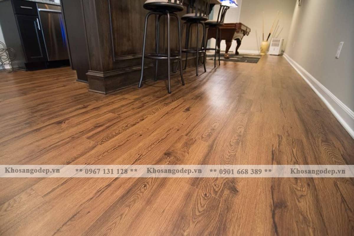 Thi công sàn gỗ Hanover D037