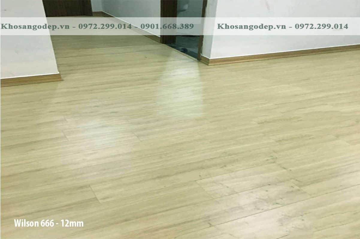 Sàn gỗ Wilson Việt Nam12mm
